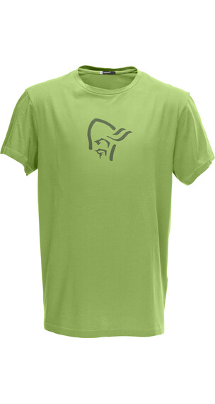 Norrøna M's /29 Cotton Logo T- Shirt Green Creed